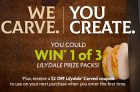 Lilydale We Carve, You Create Contest