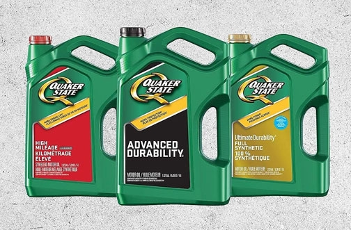 Quaker State Motor Oil Rebate