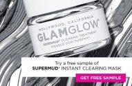 Free GLAMGLOW SuperMud Mask Samples