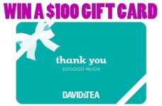 DAVIDsTEA eGift Card Giveaway
