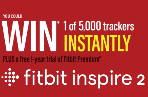 Fitbit Contest | Win a Fitbit Inspire 2