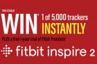 Fitbit Contest   Win a Fitbit Inspire 2