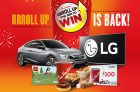 Tim Hortons Roll Up The Rim To Win Contest 2017