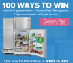 100 Ways to Win with the Frigidaire Contest