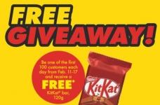 Free KitKat Bars at No Frills