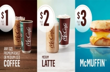Start Your Day With McCafe for $1, $2 or $3