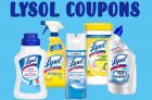 Lysol Coupons Canada