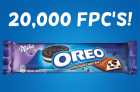 Reminder! 20,000 OREO Candy Bar FPC's Today!