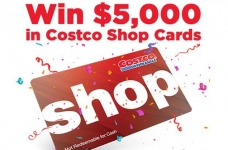 Costco Contest | Win $5000 in Costco Shop Cards