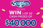 Scotties Contest | Win $40,000 in CASH