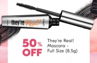 Half Price Benefit They're Real! Mascara + 50,000 PC Optimum Points