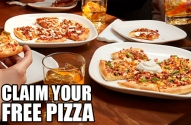 Get a Free Pizza at Boston Pizza!