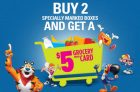Kellogg's Promotions Canada   Cash for Groceries Promotion