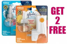 Get 2 Free Glade Plugins Scented Oil Starter Kits