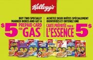 Kellogg's Gas Cash Promotion