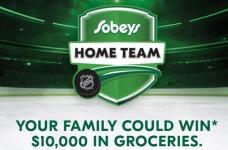 Sobeys Contest | Home Team Contest
