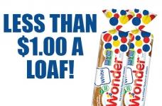 Wonder Bread for Under $1