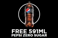 Free Pepsi Zero Sugar Coupon