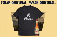 Coors Original T-Shirts at The Beer Store