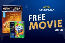 General Mills Canada Promotion | Free Cineplex Movie Offers