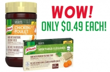 Save on Knorr Selects Bouillon