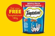 Free Temptations Cat Treats Coupon