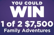 Dare Bear Paws Family Adventures Made Better Contest