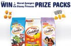 Goldfish Crackers Contests   Win Disney or Marvel Prizes Packs + 1 of 3 $1000 Prizes