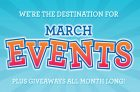 Toys R Us March Break Events