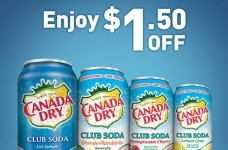 Canada Dry & CPlus Coupon