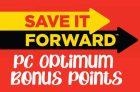 PC Optimum Save It Forward Portal | No Frills