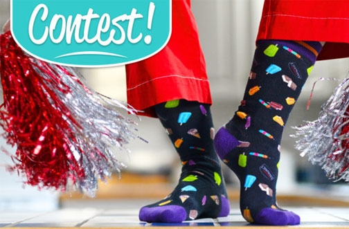 Chapman's Ice Cream Contest | Win Free Chapman's Socks