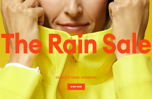 Joe Fresh Sales & Coupons | The Rain Sale + Free* Umbrella + Get 10,000 PC Optimum Points