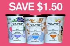 Yoats Dairy Free Yogurt Coupon