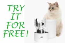 Try Catit Grooming Kits For Free