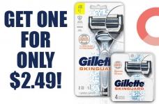 Gillette SkinGuard Razor For $2.49!