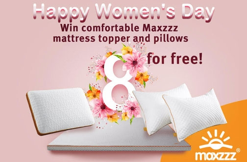 Maxzzz Contest | Women's Day Contest