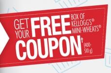 Free Kellogg's Mini Wheats Cereal