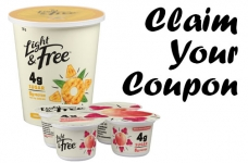 Light & Free Yogurt Coupon