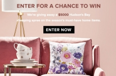 Hudson's Bay Own Your Space Sweepstakes