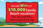 Cheestrings Beach Vacation Adventure Contest