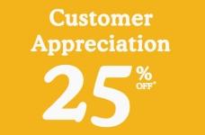Roots Customer Appreciation Sale