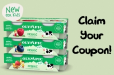 Olympic Organic Yogurt for Kids Coupon