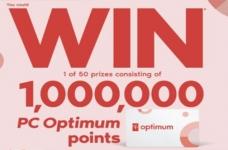 PC Optimum 1 Million Points Contest