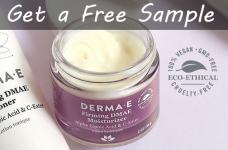 Free Derma E Firming DMAE Moisturizer Samples