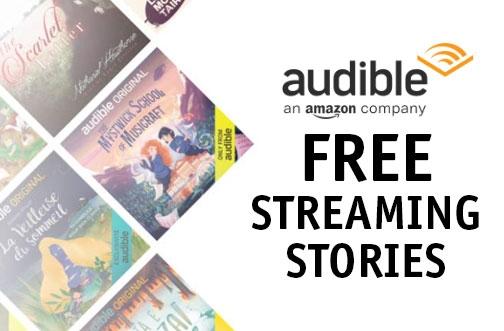 Free Audible Kids Streaming Stories