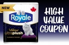 Royale Velour Toilet Paper Coupon | NEW $2 Off Velour UltraPlush Coupon + $1 off Velour