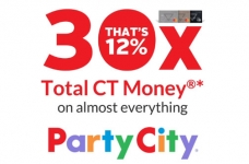 Triangle Rewards Offer | Up to 30X at Party City