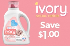 Ivory Snow Laundry Detergent Coupon