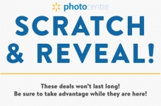 Walmart Photo Centre Deals | Scratch & Reveal